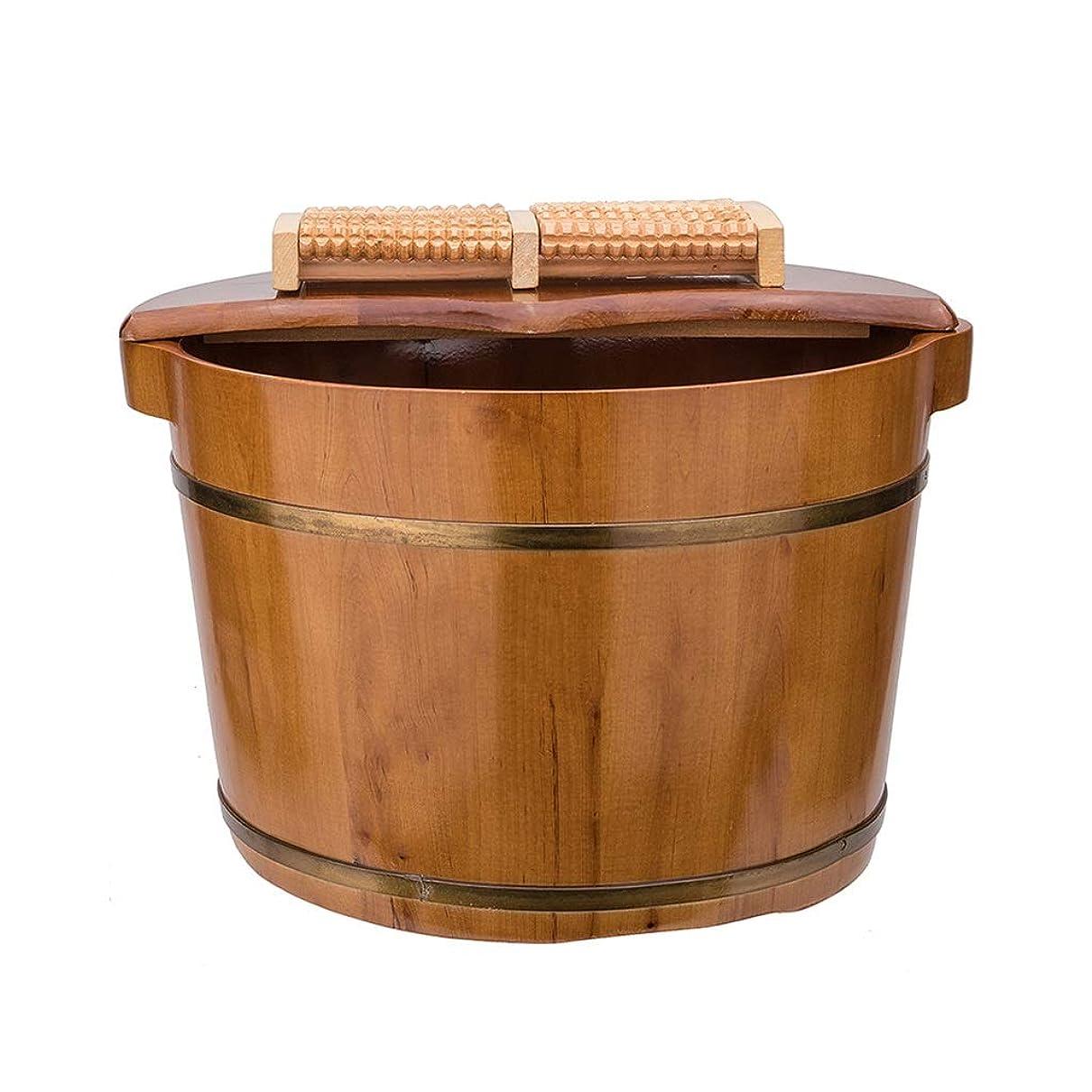 出身地干し草シャッター木製サウナバケツ,防水 防漏足浴桶,使用簡単 おしゃれ サウナバケッ,ト滑らかい 繊細 手作り