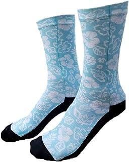 Women Men Long Beach At The Vintage American Flag Pattern Athletic Ankle Socks