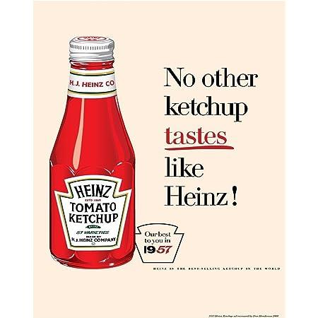 Heinz Tomato Ketchup Art Christmas Tree Ornament//Magnet//DHM//Wall
