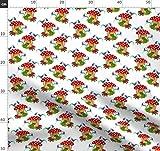 Fabric8, Frosch, Fliegenpilz, Pilz, Glockenblume Stoffe -