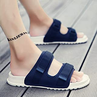 Oedeemschoenen, Voeten gezwollen schoenen,Met klittenband verstelbare slippers, waterdichte antislip zachte bodemsloffen-4...