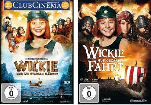 Wickie und die starken Männer + Wickie auf großer Fahrt im Set auf 2 DVDs [2 DVDs]