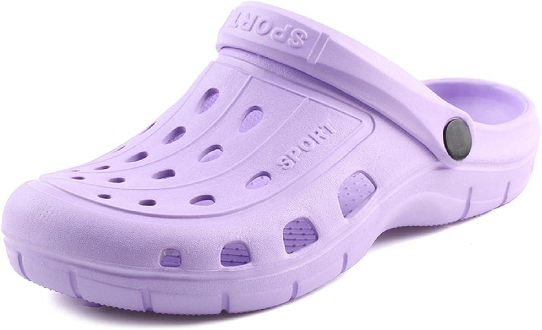 Kurop Women's Garden shoes Summer Beach Sports EVA Clogs Sandal Slippers