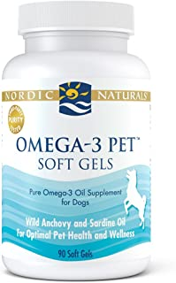 Nordic Naturals Omega 3 Pet - Special Dog Formula Fish Oil Omega-3s, EPA, DHA Supports Skin, Coat, Joint, Heart and Overall Health in Triglyceride Form for Optimal Absorption