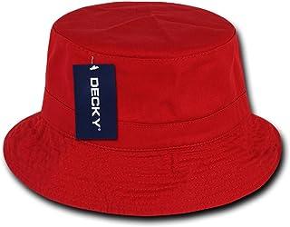 d4d9435a716 Amazon.com  Reds - Bucket Hats   Hats   Caps  Clothing