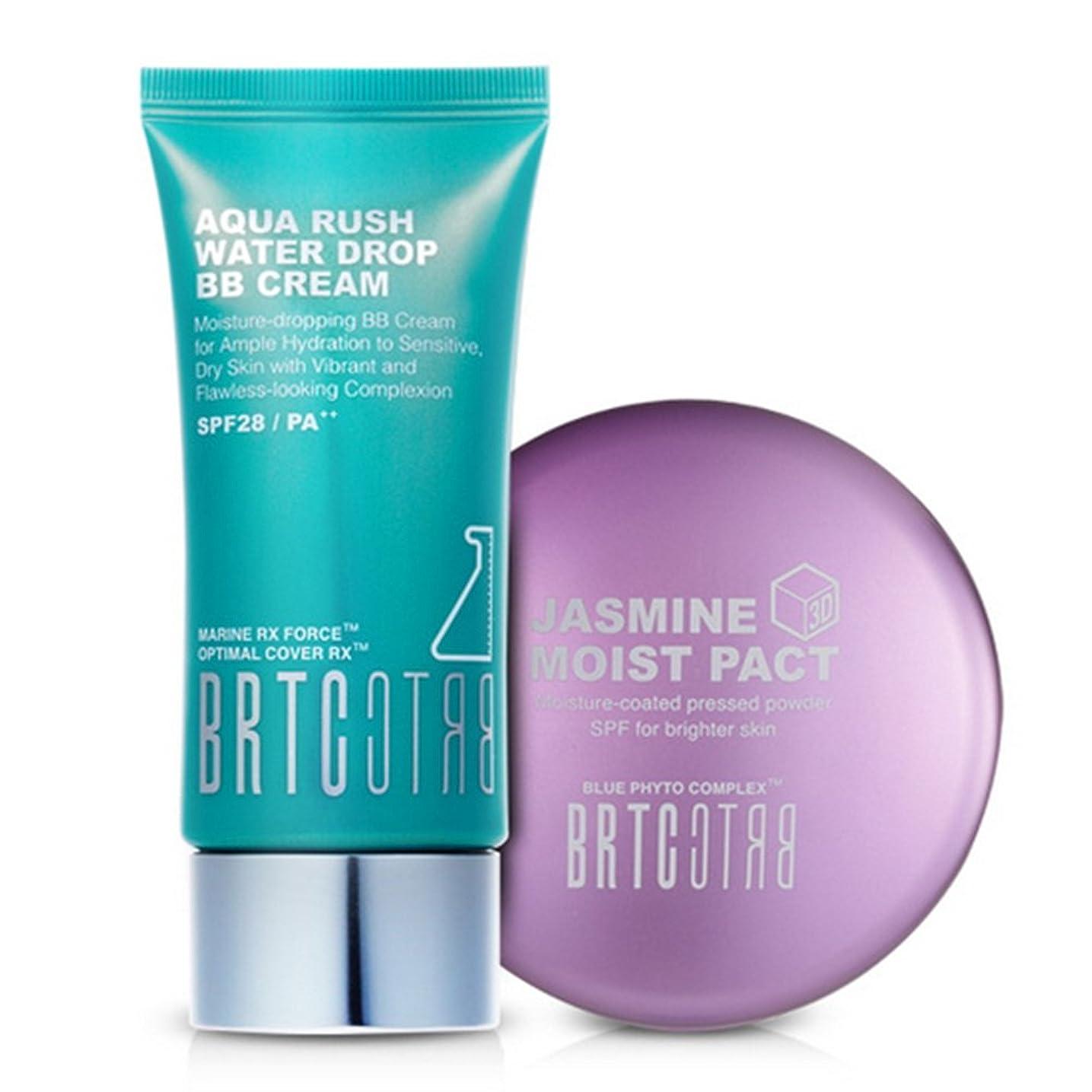 ペイントカート酸【BRTC/非アルティ時】Whitening&Moisture Make Up Set アクアラッシュビビ ファクト2種set [BB Cream+ Moist Pact Set](海外直送品)