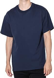 Hanes(ヘインズ) BEEFY Tシャツ ビーフィー 半袖 コットン 無地 XL ネイビー
