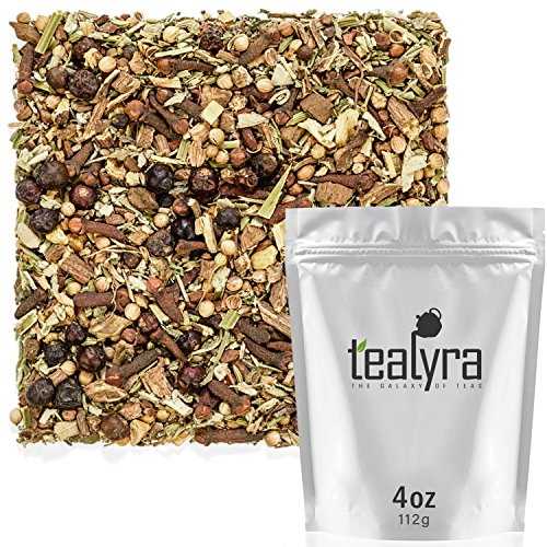 Tealyra - Blood Cleanser Tea - Wellness Detox - Health Tonic - Dandelion - Ginger - Loose Leaf Herbal Tea - Natural Cleanse - Diuretic Tea - Caffeine-Free - 112g (4-ounce)