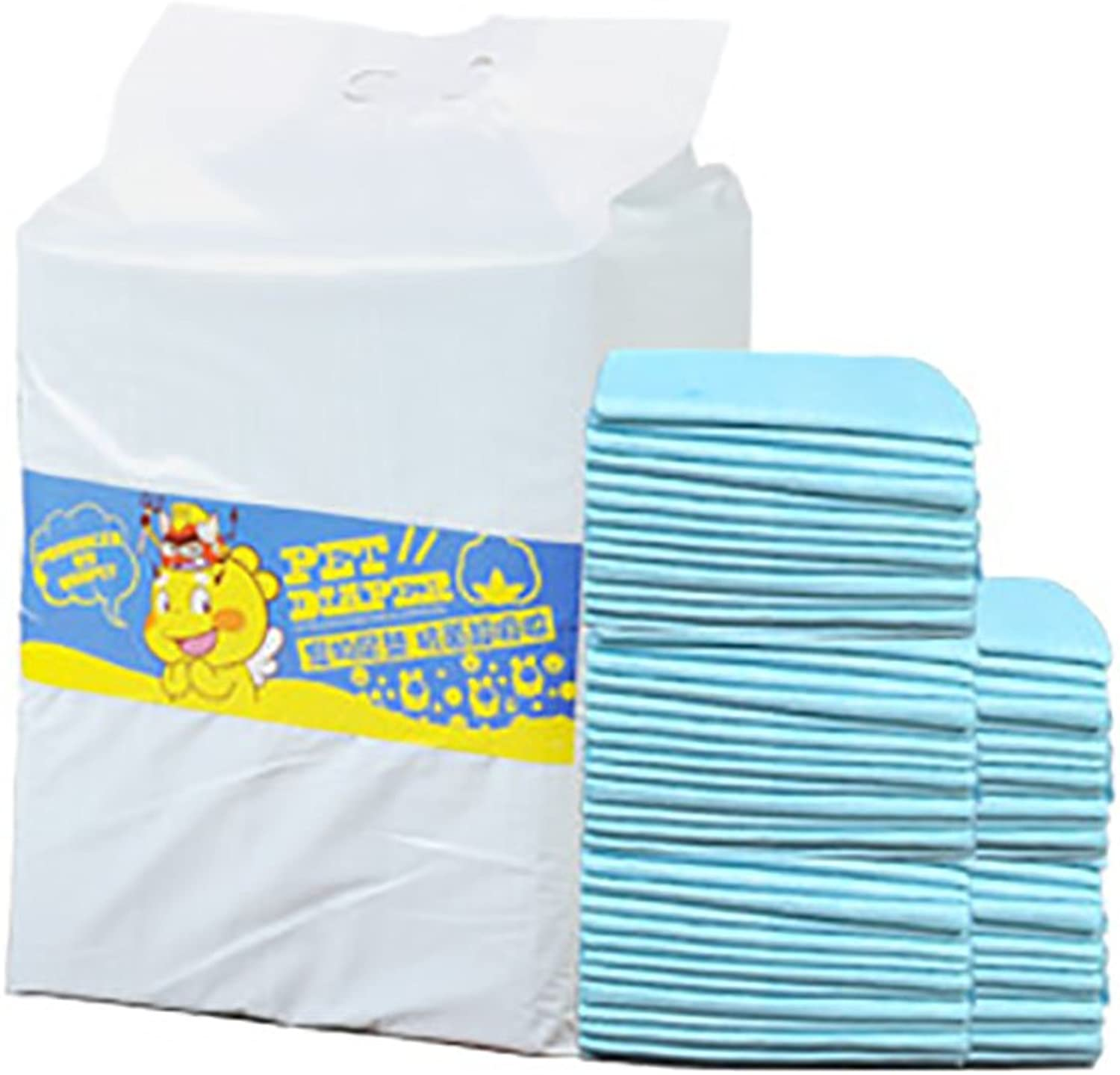 MaruPet Doggie Disposable Dog Diaper Liners Ultra Absorbency Diaper L(50 PC)