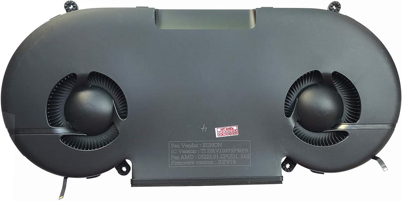 HT-ImEx Ventilador de refrigeración compatible con Apple iMac Pro A1862 EMC 3144 27