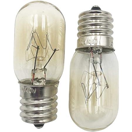 supplying demand 8206232a microwave kei 130 volt 40 watt e17 bulb 2 pack