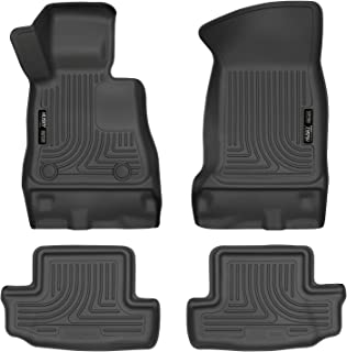 Husky Liners 99121 Black Weatherbeater Front & 2nd Seat Floor Liners Fits 2016-19 Chevrolet Camaro