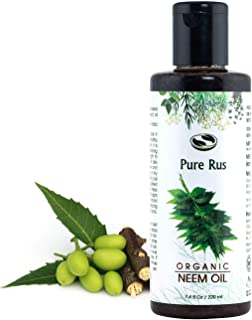 Pure Rus Cold Pressed Neem Oil For Hair And Skin, 220Ml