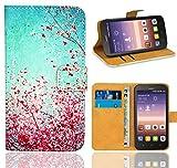 FoneExpert® Huawei Y625 Handy Tasche, Wallet Hülle Flip Cover Hüllen Etui Ledertasche Lederhülle Premium Schutzhülle für Huawei Y625 (Pattern 3)