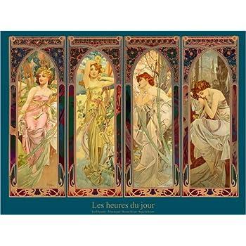 Nouveau Poster Reproduction Haut de Gamme Poster 30 x 40 cm Moet /& Chandon de Alfons Mucha
