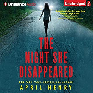 The Night She Disappeared audiobook cover art