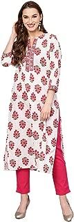 Jaipur Kurti Women's Cotton Straight Salwar Suit Set