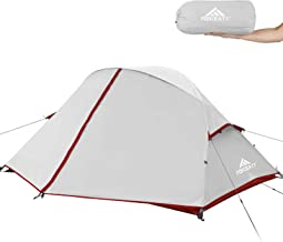 Forceatt Camping Tent 2-3 Person Portable Backpack Tent, Waterproof and Windproof Easy to Install, Suitable for Travel, Ca...