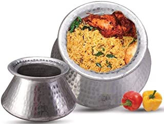 Best aluminium biryani pot products Reviews