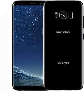 Samsung Galaxy S8 G950FD 64GB Midnight Black, Dual Sim, 5.8 inches, 4GB Ram, GSM Unlocked International Model, No Warranty