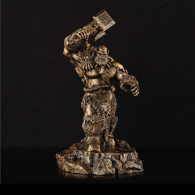 precio mas barato JXJJD JXJJD JXJJD World of Warcraft Orgrim Hand Modelo de Anime Recuerdo Colección Artesanía  ventas en linea