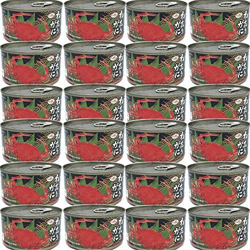 わたりがにフレーク缶 (170gx24缶) ワタリガニ 缶詰 かに缶 蟹缶 カニ缶 カニフレーク 業務用 かんづめ 缶詰め