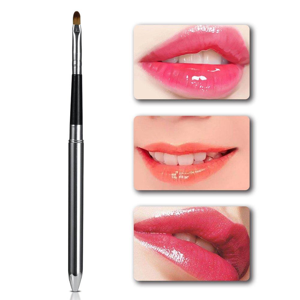 Aluminum Handle Soft Bristle Retractable Brush Sale special price Lip Max 50% OFF Makeup