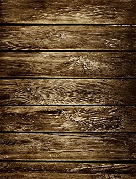 AOFOTO 3x5ft Old Wood Plank Backdrop Grunge Wooden Board Photo Shoot Background Vintage Weathered Hardwood Fence Panels Photography Studio Props Kid Child Baby Boy Girl Portrait Video Drop Wallpaper