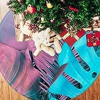 ツリースカート クリスマスツリースカート 葉 マルチ きれい ホリデーデコレーション メリイクリスマス飾り 下敷物 可愛い 雰囲気 クリスマスパーティー 直径107cm