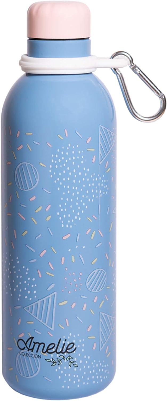 出荷 新色追加して再販 Official Amelie Water Bottle-Sports 17OZ Stainle Bottle-500ml