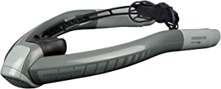 POWERBREATHER AMEO ADVENTURE - snorkel set (grey) - 100% fresh air, no pendulum breathing due to patented valve technology