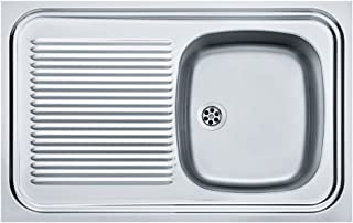 Franke ECO KITCHEN SINK Stains Resistant Surface FLAX FINISH Sink Waste AND PLUMBING KIT Included by