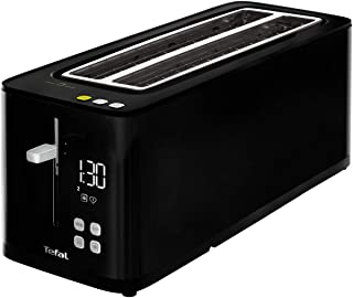 Tefal Smart'n Light Grille-Pain 2 fentes, Fonction éco, Ecran numérique, 7 niveaux de dorage, Arrêt, Décongélation, Réchau...