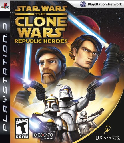 LucasArts Star Wars The Clone Wars: Republic Heroes, PS3, ESP PlayStation 3...