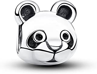 Authentic Sweet Panda 925 Sterling Silver Charms Fit Pandora & Other European Charm Bracelets