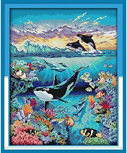 Direct sale of manufacturer Everlasting Love Christmas Max 68% OFF Underwater World Stitch Ec Kits Cross