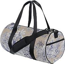 FANTAZIO Gym Duffel Bag Bengale Manuel Patroon Mens Gym Duffel Bag