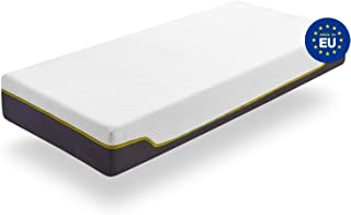 ZenPur Colchón 90 x 190 cm Viscoelástico Termorregulador – Colchón Firmeza Media con Núcleo de Soja Perfilado y Tejido Transpirable SuperStrech con Funda Lavable - Grosor 25 cm