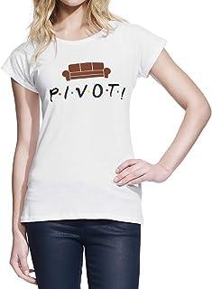 Wearuz Friends TV Show Pivot Teen Women T-Shirt