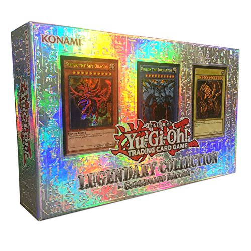 YuGiOh LEGENDARY COLLECTION Gameboard Edition Gods Cards LC01 [Toy]