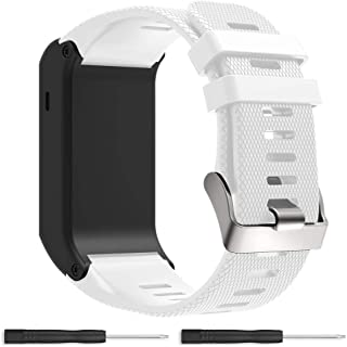 Bossblue Replacement Band for Garmin Vivoactive HR GPS Smart Watch, Silicone Replacement Fitness Bands Wristbands with Metal Clasps for Garmin vivoactive HR GPS Smart Watch