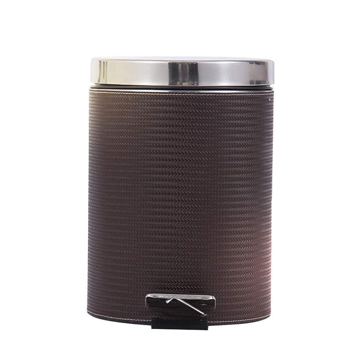 安定した衰える百科事典屋外ゴミ収納庫 ふたの世帯のペダルの古紙のバスケットの浴室のゴミ箱が付いているゴミ箱8Lの台所 ごみ箱