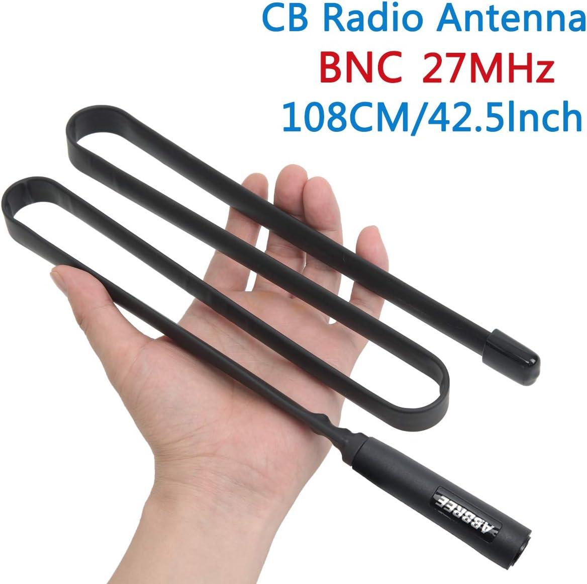 Antena táctica ABBREE de 27 MHz para Radio portátil CB con ...