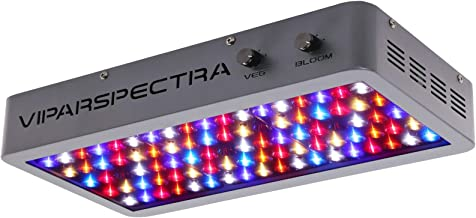 VIPARSPECTRA Dimmable 450W LED Grow Light,12-Band Full Spectrum for Indoor Plants Veg and Flower