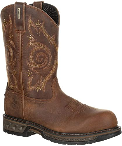 Georgia Men's Carbo-Tec LT Composite Toe Waterproof Work Wellington Stiefel