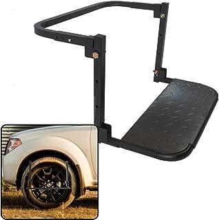 VaygWay Thule Car Tire Step- Black Heavy Duty Wheel Tire- Universal Assist Step Ladder Climb -Car Truck SUV RV Pickup