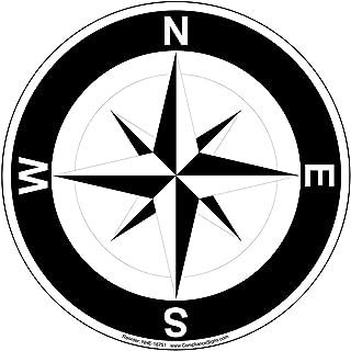 Best compass floor decal Reviews