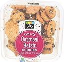 365 Everyday Value, Two-bite Oatmeal Raisin Cookies, 10.5 oz
