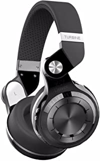 Bluedio T2 Bluetooth Headphones with Microphone Hi-Fi Deep Bass Wireless Headphones Over Ear Wireless Headphones for Travel (T2Black) [dpl]