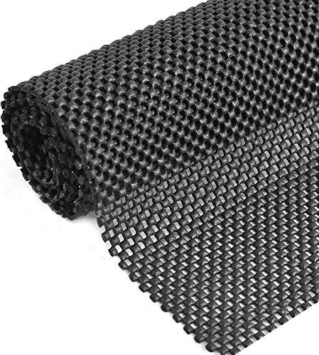 Alfombrilla antideslizante multiusos de 80 x 130 cm de PVC para cajón, forros de cajón, forro antideslizante impermeable para el hogar, oficina, coche, paleta, estante
